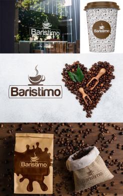Logo & Huisstijl # 1136833 voor Ontwerp een korte  krachtige en pakkende bedrijfsnaam voor Espressobar! wedstrijd
