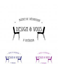 logo stationery 108249 for design vous agence de dcoration d intrieur
