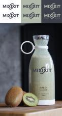 Logo & Huisstijl # 1173556 voor Mixxit   the bottle that blends wedstrijd