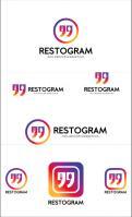 Logo & Huisstijl # 1146020 voor Ontwerp een herkenbaar  toegankelijk maar hip logo voor een online platform dat restaurants met content creators  Instagram  verbindt! wedstrijd