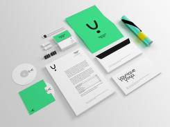 Logo & Corp. Design  # 504685 für Entwerfen Sie ein modernes+einzigartiges Logo und Corp. Design für Yoga Trainings Wettbewerb
