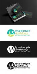 Logo & stationery # 1089267 for A sporty  distinctive logo for a physiotherapy practice in Amsterdam contest