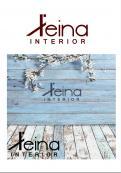 Logo & stationery # 1238179 for Logo for interior design  Reina  stam en staal  contest