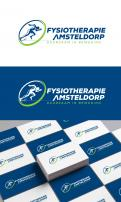 Logo & stationery # 1089158 for A sporty  distinctive logo for a physiotherapy practice in Amsterdam contest