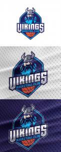 Logo & Huisstijl # 1102551 voor Basketbalclub Vikings wedstrijd