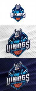 Logo & Huisstijl # 1102561 voor Basketbalclub Vikings wedstrijd