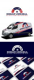 Logo & Huisstijl # 972077 voor kun je een strak logo ontwerpen voor een nieuw elektrotechnisch installatiebureau  wedstrijd