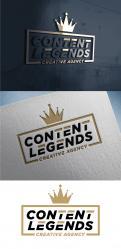 Logo & Huisstijl # 1217460 voor Rebranding van logo en huisstijl voor creatief bureau Content Legends wedstrijd