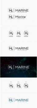 Logo & Huisstijl # 1046125 voor Een logo huisstijl voor een internationaal premium system integrator van H2  Hydrogen waterstof  installaties in de scheepvaart yachtbouw wedstrijd