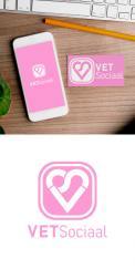 Logo & stationery # 1076868 for Design a trendy logo   stationery design for a social media company contest