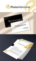 Logo & stationery # 1177374 for Pluton Ventures   Company Design contest