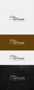 Logo & Huisstijl # 1242336 voor Ontwerp een sprekend logo voor  Met paard naar beter   wedstrijd