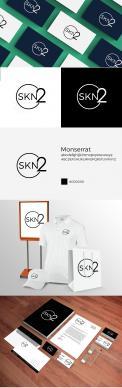 Logo & Huisstijl # 1098532 voor Ontwerp het beeldmerklogo en de huisstijl voor de cosmetische kliniek SKN2 wedstrijd