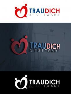 Logo & Corporate design  # 827109 für Trau-Dich-Stuttgart.de Wettbewerb