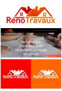 Logo & stationery # 1115721 for Renotravaux contest
