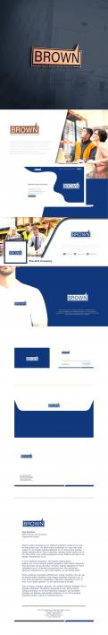 Logo & stationery # 1153600 for Design a masculine  professional  reliable logo   corporate identity for business services! contest