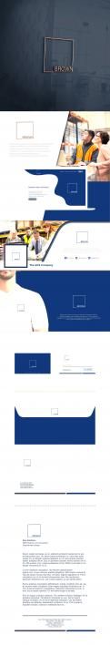 Logo & stationery # 1153602 for Design a masculine  professional  reliable logo   corporate identity for business services! contest