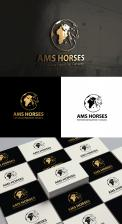 Logo & stationery # 1116075 for Worldwide logo for horse company contest