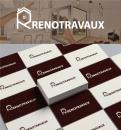 Logo & stationery # 1116593 for Renotravaux contest