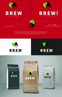 Logo & Huisstijl # 1150196 voor Ontwerp een korte  krachtige en pakkende bedrijfsnaam voor Espressobar! wedstrijd