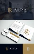Logo & stationery # 1234684 for Logo for interior design  Reina  stam en staal  contest