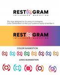 Logo & Huisstijl # 1145783 voor Ontwerp een herkenbaar  toegankelijk maar hip logo voor een online platform dat restaurants met content creators  Instagram  verbindt! wedstrijd