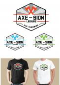 Logo & stationery # 1150849 for Create our logo and identity! We are Axe Sion! contest
