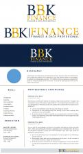 Logo & stationery # 1157890 for Help me brand my new finance firm contest