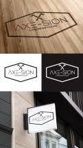 Logo & stationery # 1151470 for Create our logo and identity! We are Axe Sion! contest
