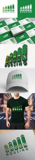 Logo & Huisstijl # 1062391 voor Green Housing   duurzaam en vergroenen van Vastgoed   industiele look wedstrijd
