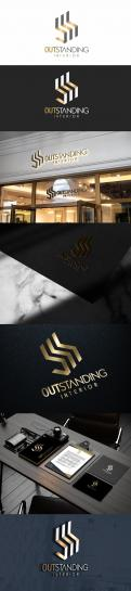 Logo & stationery # 1154685 for logo   corporate identity for a firm in interior design contest