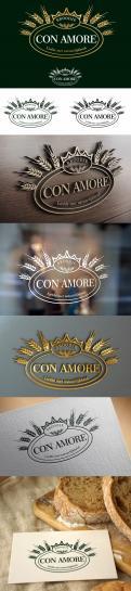 Logo & Huisstijl # 955659 voor Huisstijl voor Broodje  Con Amore   Italiaanse bakkerij  wedstrijd