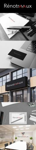 Logo & stationery # 1116986 for Renotravaux contest