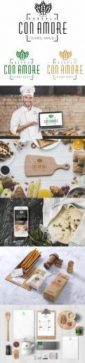 Logo & Huisstijl # 955902 voor Huisstijl voor Broodje  Con Amore   Italiaanse bakkerij  wedstrijd