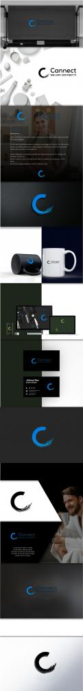 Logo & stationery # 1210203 for Rebranding the look of our 10 years old company Cannect contest