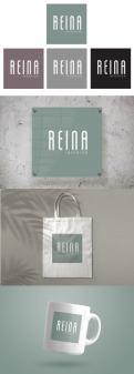 Logo & stationery # 1245386 for Logo for interior design  Reina  stam en staal  contest