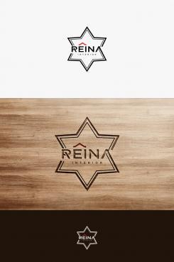 Logo & stationery # 1236623 for Logo for interior design  Reina  stam en staal  contest