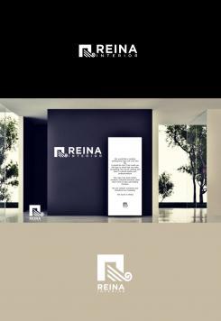 Logo & stationery # 1235560 for Logo for interior design  Reina  stam en staal  contest