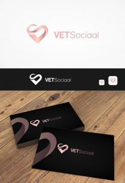 Logo & stationery # 1077509 for Design a trendy logo   stationery design for a social media company contest