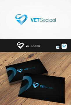 Logo & stationery # 1077511 for Design a trendy logo   stationery design for a social media company contest