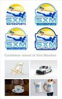 Logo & stationery # 1096201 for Logo and corporate identity for water sports company Caribbean Island contest