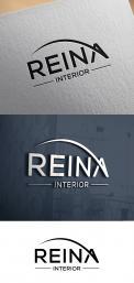 Logo & stationery # 1245907 for Logo for interior design  Reina  stam en staal  contest