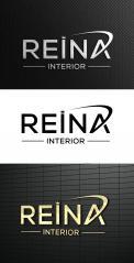 Logo & stationery # 1245931 for Logo for interior design  Reina  stam en staal  contest
