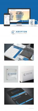 Logo & stationery # 911521 for Krypton Consulting logo + stationery contest
