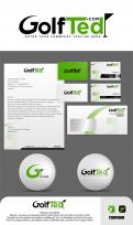 Logo & stationery # 1172511 for Design a logo and corporate identity for GolfTed   electric golf trolleys contest