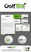 Logo & Huisstijl # 1172511 voor Ontwerp een logo en huisstijl voor GolfTed   elektrische golftrolley's wedstrijd