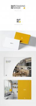 Logo & stationery # 1150878 for logo   corporate identity for a firm in interior design contest