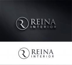 Logo & stationery # 1235589 for Logo for interior design  Reina  stam en staal  contest