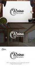 Logo & stationery # 1236125 for Logo for interior design  Reina  stam en staal  contest