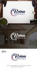 Logo & stationery # 1236126 for Logo for interior design  Reina  stam en staal  contest
